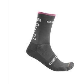 Castelli Giro d'Italia #102 Skarpetki 13cm szary